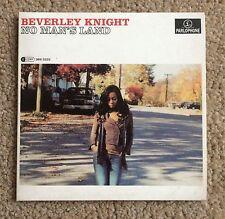 BEVERLEY KNIGHT No Man's Land 2007 PROMO CD SINGLE Music City Soul R&B Soul
