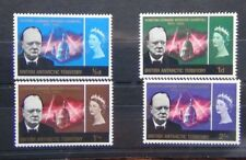British Antarctic Territory 1966 Churchill set MM