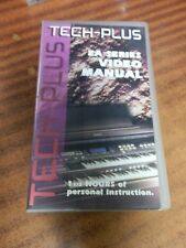 Tech-Plus Technics EA Series Video Manual