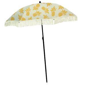 100 Percent UV Protection Beach Umbrella by beachBRELLA Dancing Pineapples