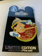 New ListingPinocchio Jiminy Cricket 100 Years of Magic M&P Disney Store Pin 6113