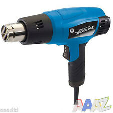HEAVY DUTY SILVERLINE 2000W HOT AIR HEAT GUN PAINT WALLPAPER REMOVER STRIPPER