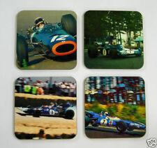 Jackie Stewart F1 Formula One Legend Drinks Coaster Set