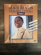 Vintage mavis beacon Teaches typing Version 3 Vintage Mavis Beacon Computer Pro