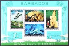 AT136 BARBADOS Marine Life, Fish, Natural Beauty of Barbados S/S MINT NH