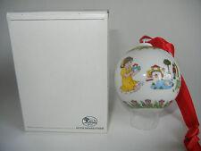 Hutschenreuther Bola de Navidad Porcelana 1993 (Mi Art.No. 1993-2)