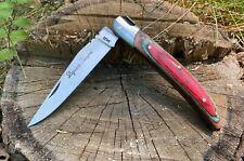 Laguiole Pocket Knife France Wood Old Men's Vintage Flodings Steel Old Rare