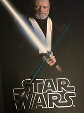 Hot Toys MMS283 Star Wars: A New Hope Obi Wan Kenobi Blue Lightsaber Jedi 1/6
