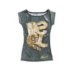 Desigual Damen-T-Shirts mit Motiv Normalgröße