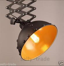Industrial Scissor Pendant Riveted Ceiling Lamp E27 Light Adjustable Lighting