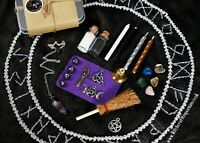 Travel Pocket Altar Kit - Witch Spell Herbs,Candles, Wiccan,Pagan,witchcraft