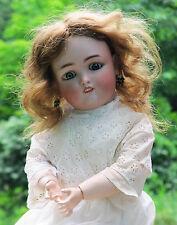 "24"" Antique Simon Halbig 1349 Jutta Doll Bisque Head Composition Body Human Hair"