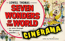 SEVEN WONDERS OF THE WORLD Boston Theatre Cinerama Production