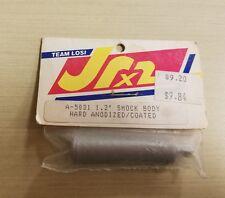 "VINTAGE TEAM LOSI JRX2 1.2"" SHOCK BODY HARD ANODIZED RARE SILVER FINISH A-5031"