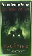 THE HAUNTING VHS 1999 Liam Neeson Catherine Zita Jones SPECIAL LIMITED EDITION