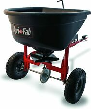 Agri-Fab Broadcast Spreader Tow Style, 110 lb Capacity, Black 45-0527