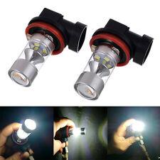 2x 60W H11 H8 High Power 8000K Samsung 2323 LED Bulbs Driving Car Fog Light DRL
