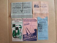 LOT 5 PUBLICITES POITIERS Sté Gle Transports, Chemin de Fer Paris SNCF Autorails