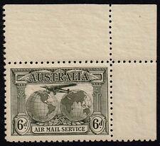 Australia 1931 6d. Air Mail, hinged in margin (SG#139)