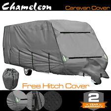 Leisurewize Swift Conqueror 645 3-PLY Universal Caravan Cover 23-25ft