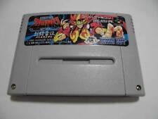 Nintendo Super Famicom Kishin Douji ZENKI Battle Raiden Japan F/S SNES SFC