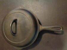Vintage Griswold Cast Iron Skillet With Lid No 6