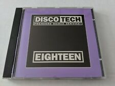 DISCOTECH EIGHTEEN (DJ REMIX) CD - LULU, ROZALLA, SIMPLE MINDS, INFO SOCIETY...