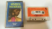 VOCES NEGRAS ROSETTA THARPE 1972 CINTA TAPE CASSETTE SPANISH EDIT PAPER LABELS
