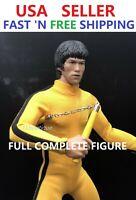 Custom Made 1/6 Bruce Lee Game of Death Full COMPLETE Figure