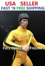 Custom Made 1/6 Bruce Lee Game of Death Full COMPLETE Figure