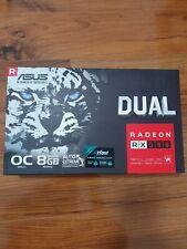 ASUS RADEON RX580 DUAL SERIES 8GB