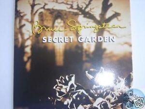 BRUCE SPRINGSTEEN SECRET GARDEN PROMO CD