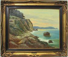 Aleardo GALBUSERA (Lugano 1898 - Milano 1973) Paesaggio costiero 40x50 anno 1920