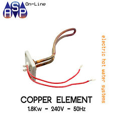 HOT WATER SYSTEM ELECTRIC COPPER ELEMENT 1.8Kw - 240V - 50Hz