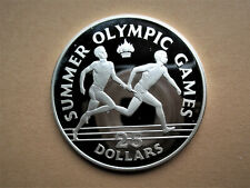 Jamaica, 25 dollars, 1988 Relay runners