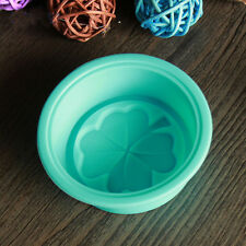 2pcs Four Leaf Clover Flower Silicone Handmade Soap Mold 3D Soap Molds DIY Craft