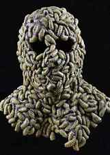 Grub Mask Worms Maggots Scary Fancy Dress Up Halloween Adult Costume Accessory
