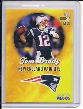leer 2000 novato oro Phenom TOM BRADY New England Patriots.