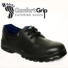 Comfort Grip Lace-up Safety Shoes DK23 Black UK 8 EM18 14