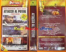 film VHS ATTACCO AL POTERE D. Washington   CARTONATA PANORAMA (F16)  no dvd