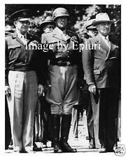 Eisenhower - Patton - Truman rp 8x10 photo