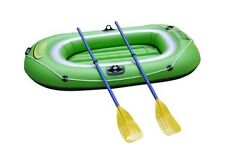 2 Two Man Person Inflatable Dinghy Complete With Oars