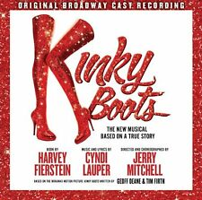 KINKY BOOTS CD - ORIGINAL BROADWAY CAST RECORDING (2013) - NEW UNOPENED