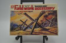 "Bandai 8234-125 Field work accessory No.6 ""BARRICADE"" 1/48 scale Sealed"