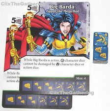 2x BIG BARDA: SPARE THE MEGA-ROD 48/124 Batman Dice Masters DC