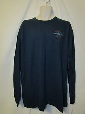 mens O'Neill L/S surfer  t-shirt XL nwt factor blue