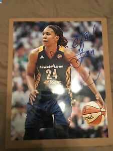 Tamika Catchings Autographed 11x14 Indiana Fever Team USA WNBA