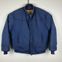 Vintage the Original Catalina Varsity Coat Men's 44 Long L/XL Navy Blue Jacket