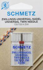 15 Schmetz pour machine à coudre Stick Aiguilles Sys 130//705 H-E Presque comme neuf 90//14 plat piston