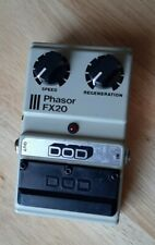 Vintage Early DOD FX 20 Phasor Guitar Effects Pedal